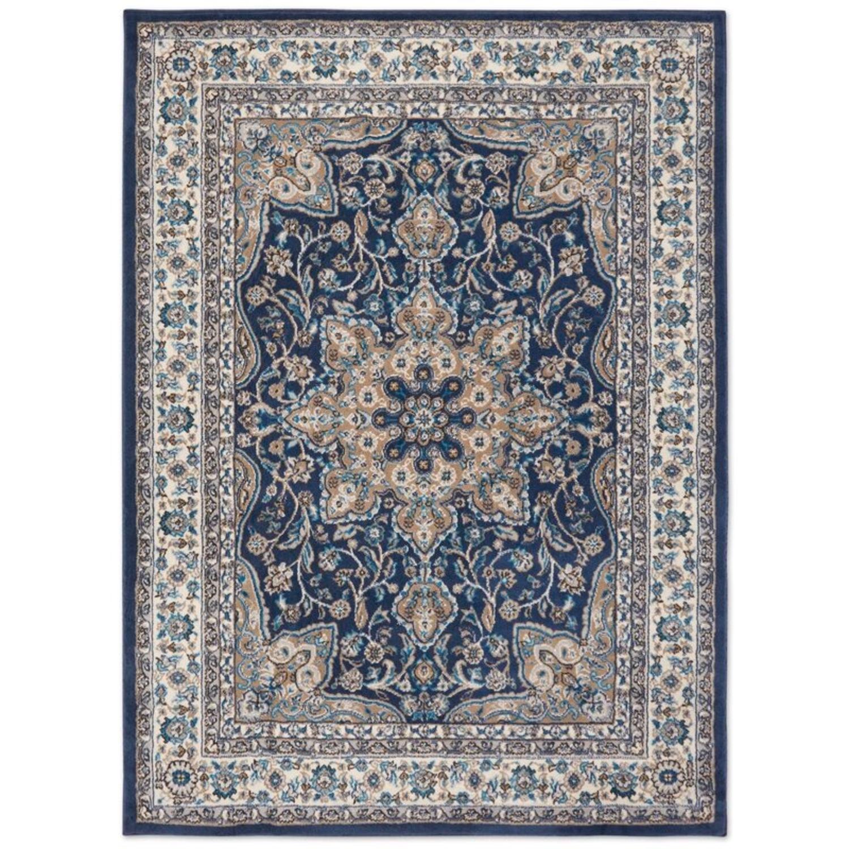 Wayfair Navy Blue Oriental Rug - image-3