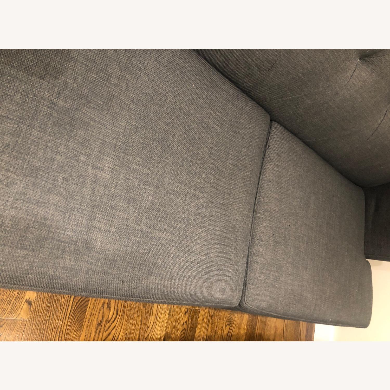 CB2 Avec Grey Apartment Sofa - image-7