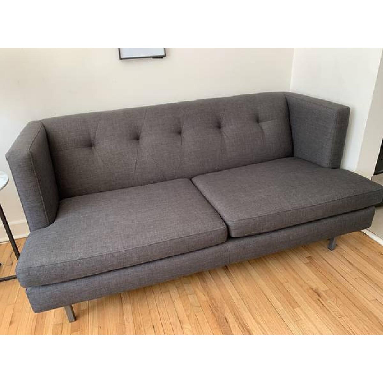 CB2 Avec Grey Apartment Sofa - image-2