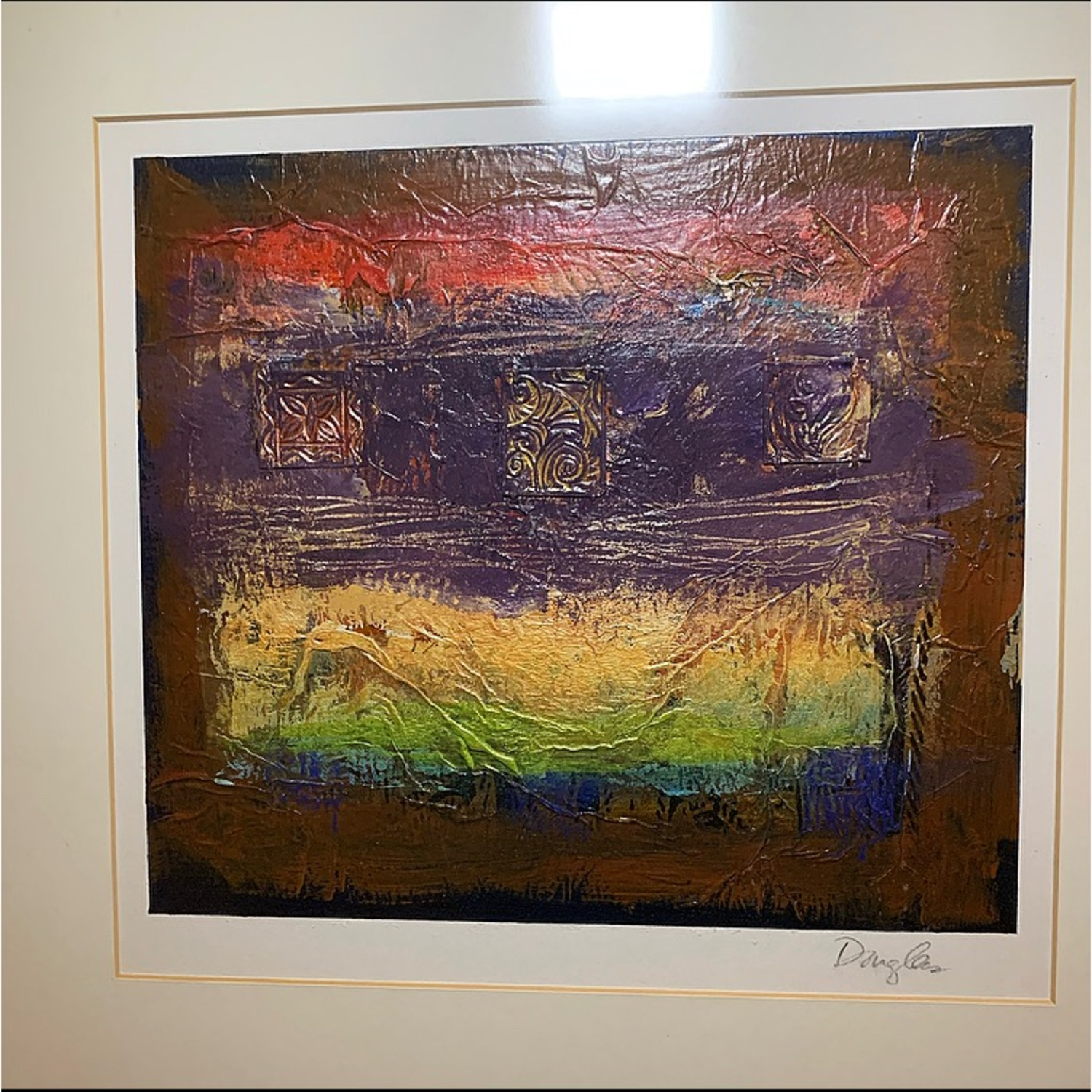 John Douglas Original Oil on Metal Paintings - image-3