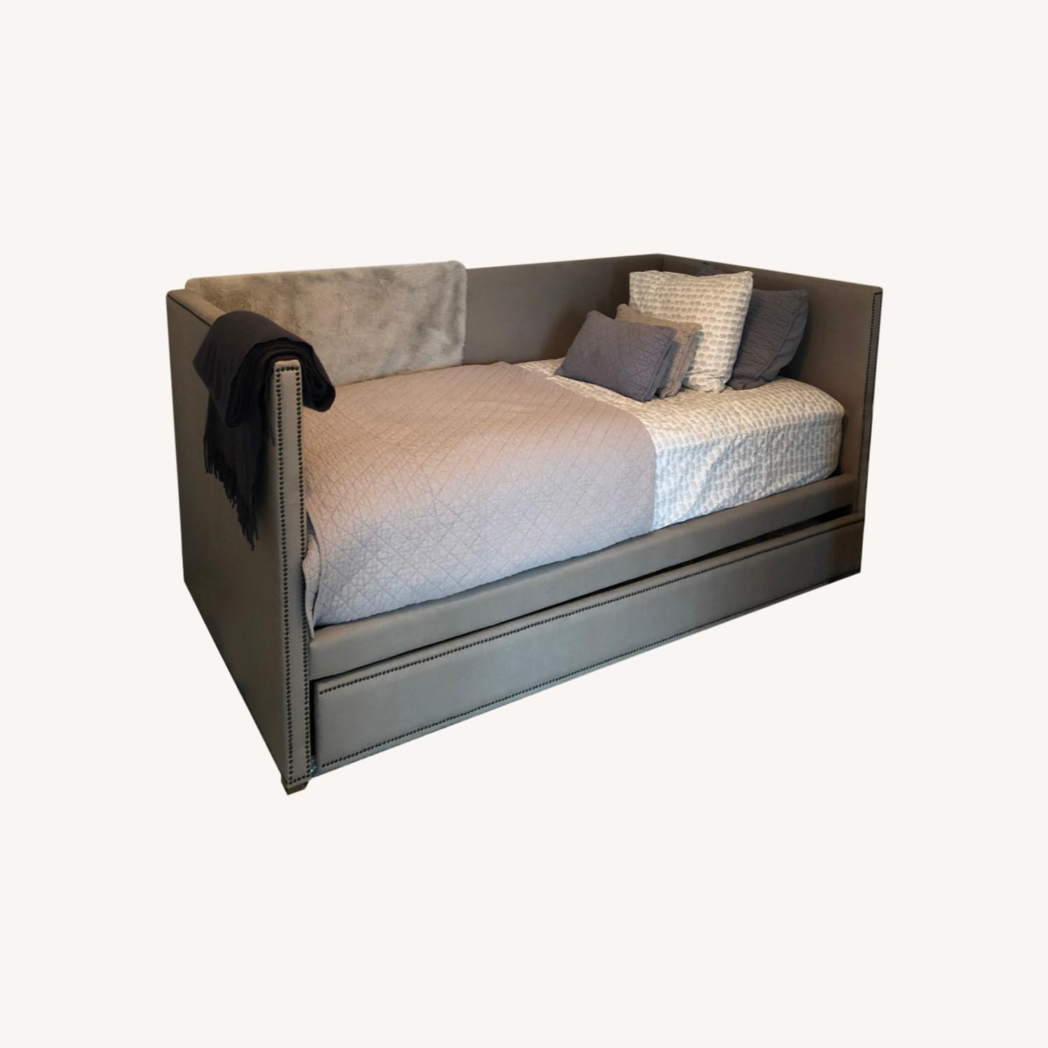 Restoration Hardware Twin Day Bed with Trundle - image-0
