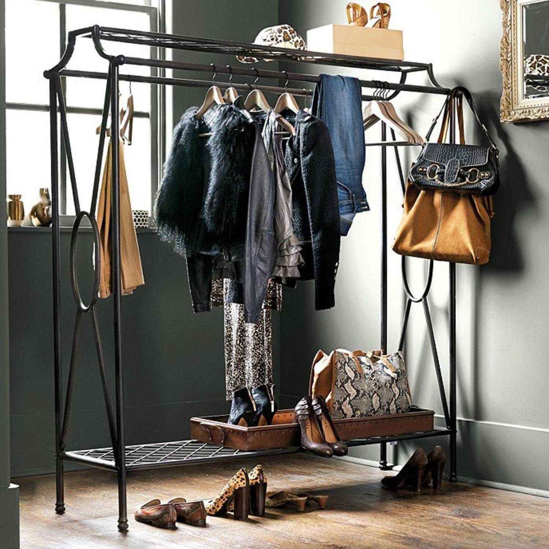 Ballard Designs Double Coat Rack (Clothing Rack) - image-1