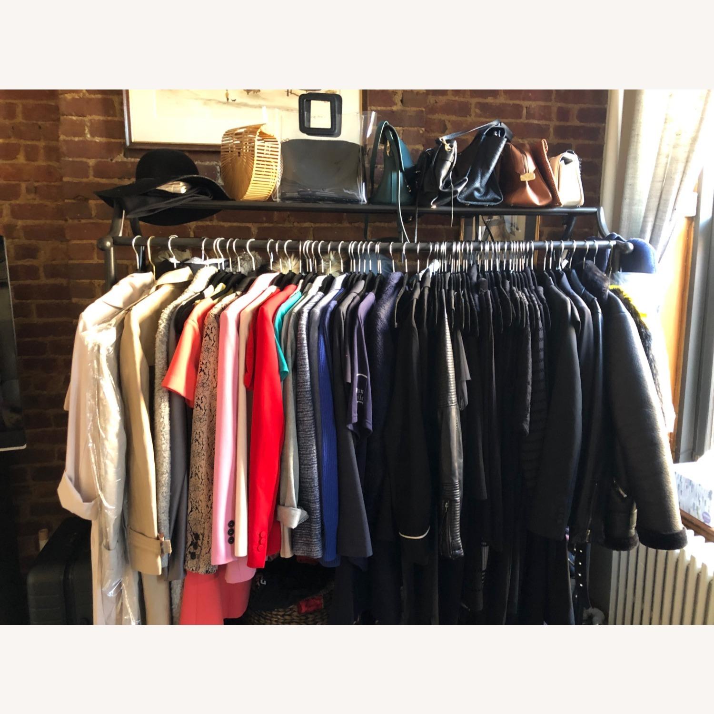 Ballard Designs Double Coat Rack (Clothing Rack) - image-3