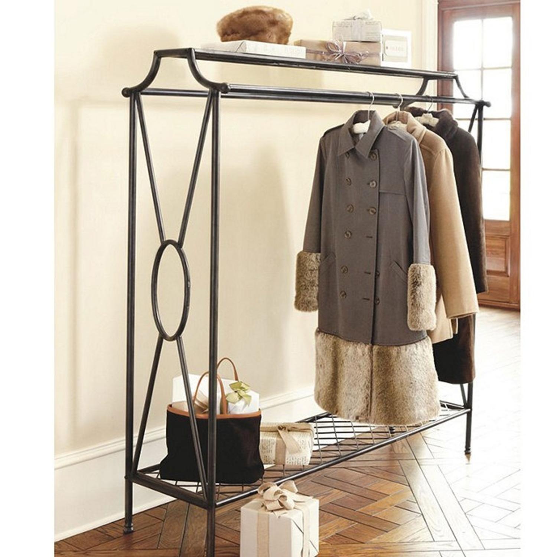 Ballard Designs Double Coat Rack (Clothing Rack) - image-2