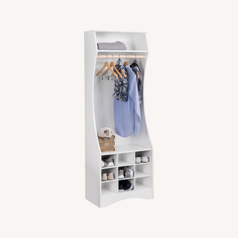 Wayfair White Wardrobe Armoire - image-0