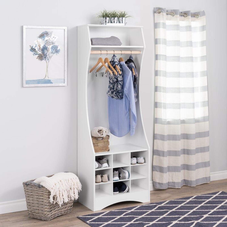 Wayfair White Wardrobe Armoire - image-1