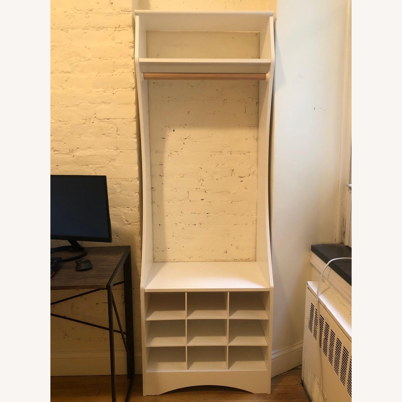 Wayfair White Wardrobe Armoire - image-3