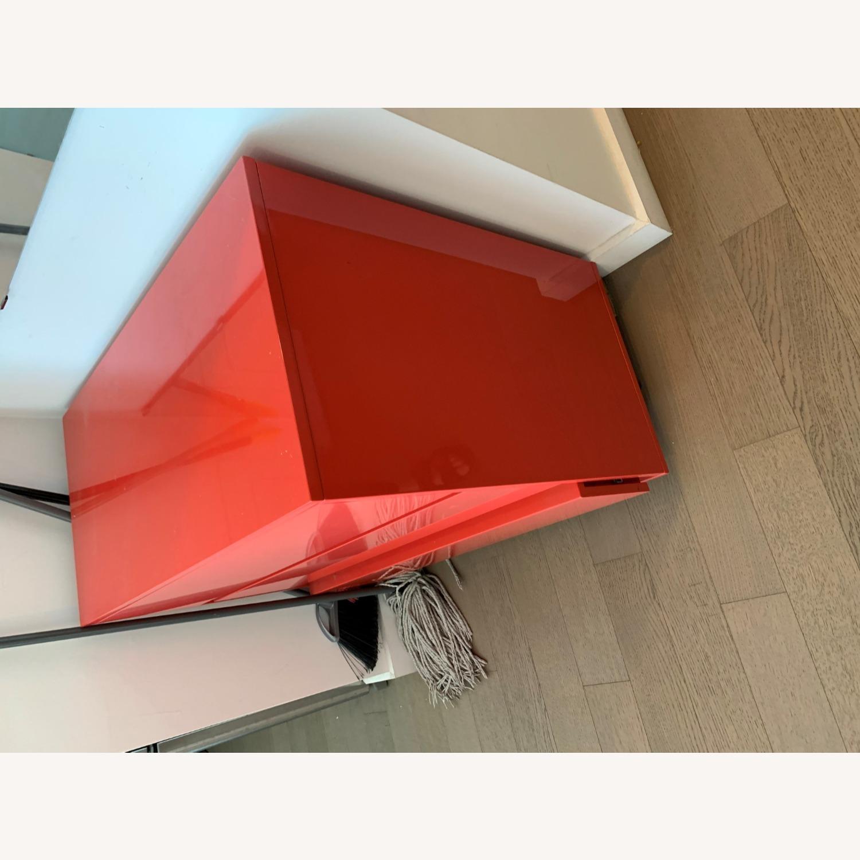 CB2 Fire Engine Red 3-Drawer Dresser - image-8