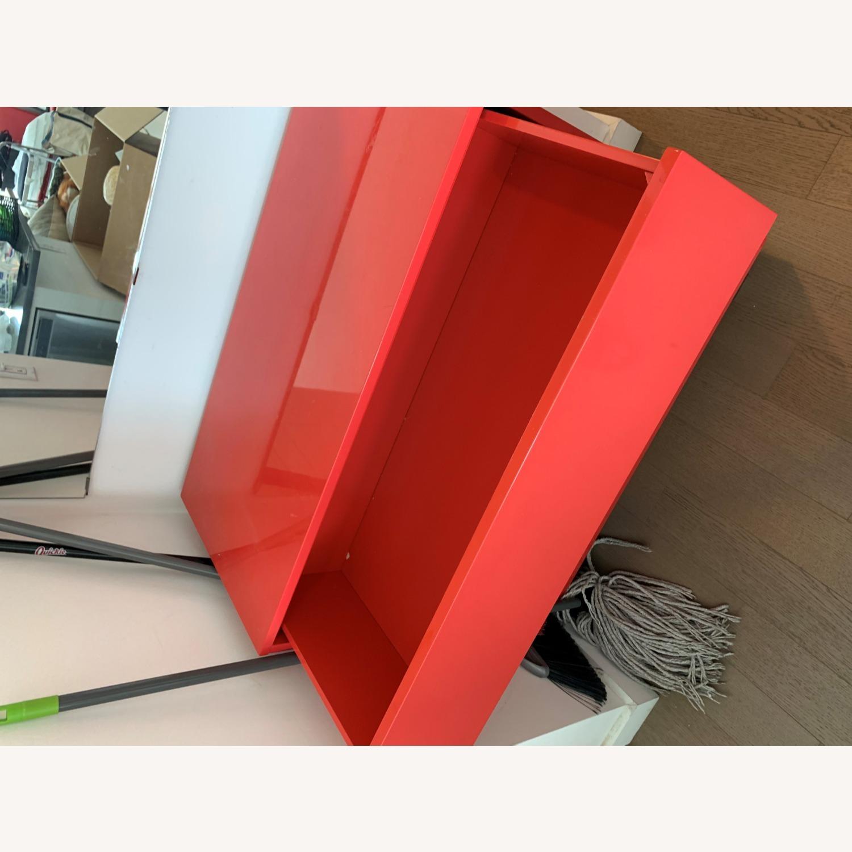 CB2 Fire Engine Red 3-Drawer Dresser - image-7