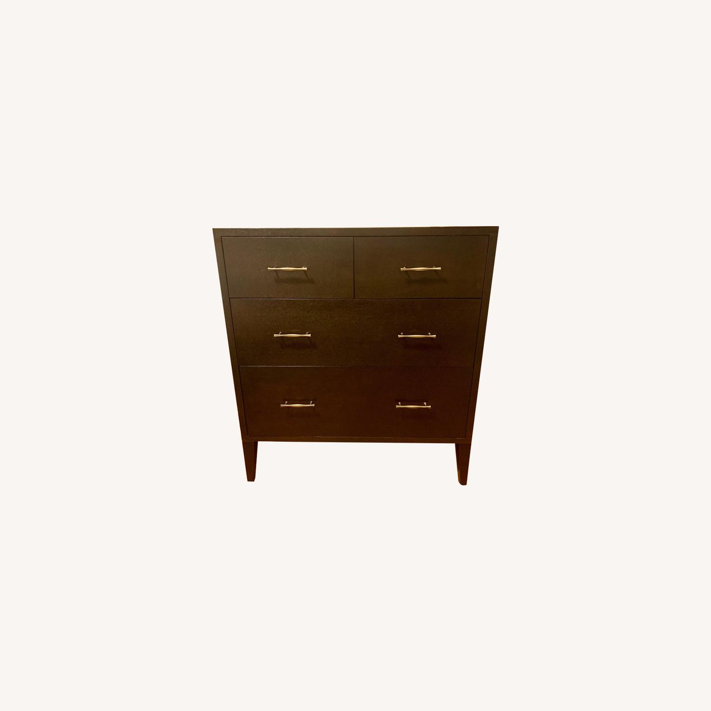 West Elm 4 Drawer Dresser in Chocolate - image-0
