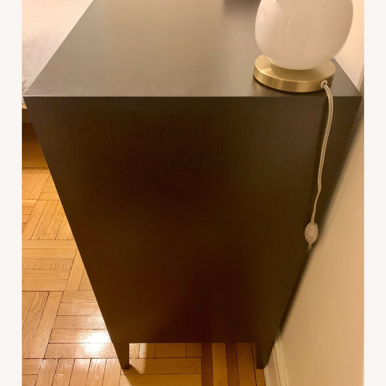 West Elm 4 Drawer Dresser in Chocolate - image-2