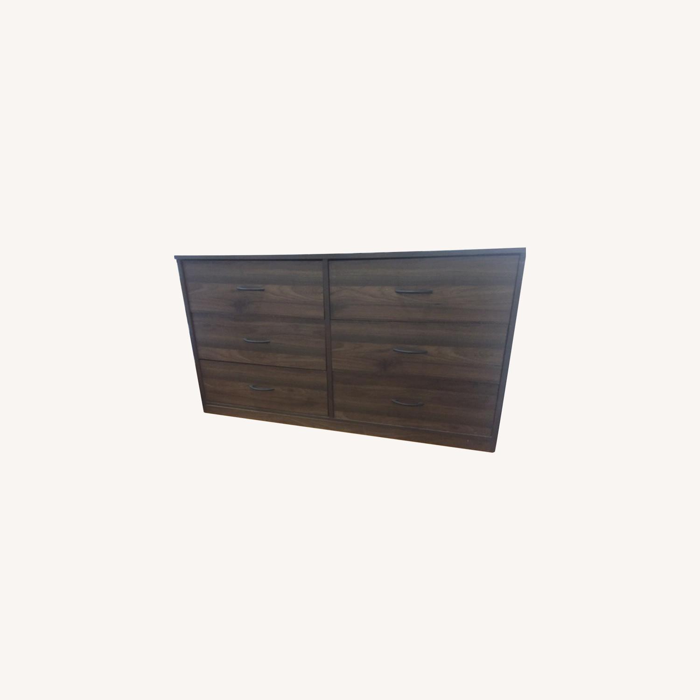 Wayfair Dark Brown Dresser - image-0