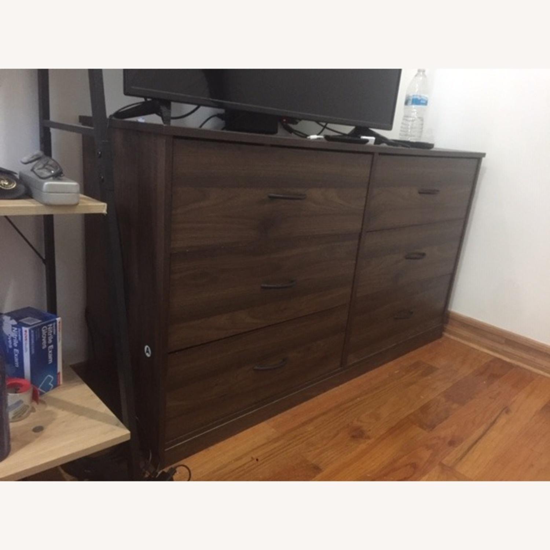 Wayfair Dark Brown Dresser - image-3