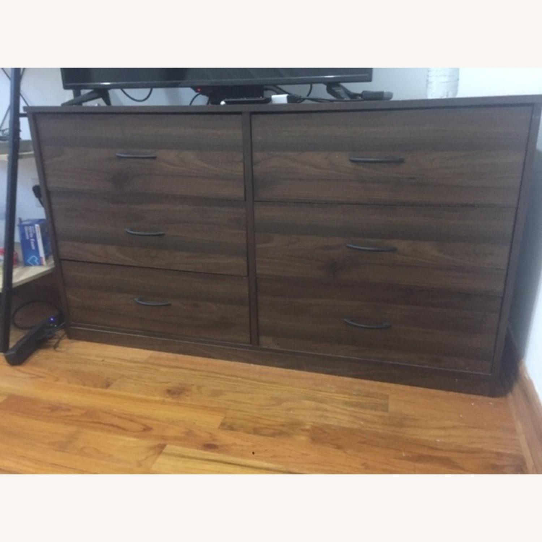Wayfair Dark Brown Dresser - image-1