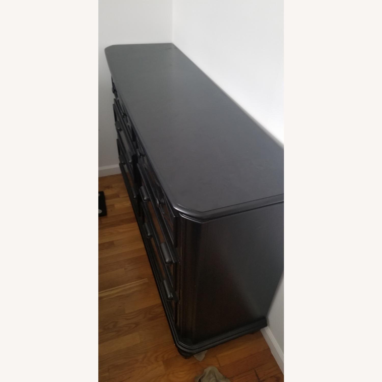 Bob's Discount Black Wide Dresser - image-2