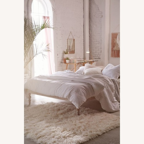Used Urban Outfitters Bohemian Platform Full Bed for sale on AptDeco