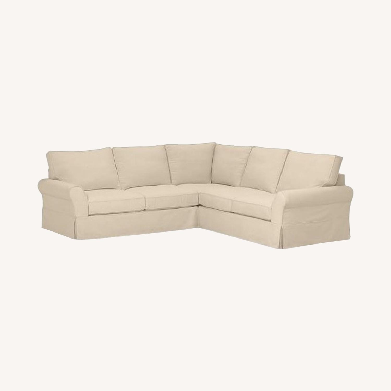 Pottery Barn PB Comfort 3-Piece Sectional Sofa - image-0