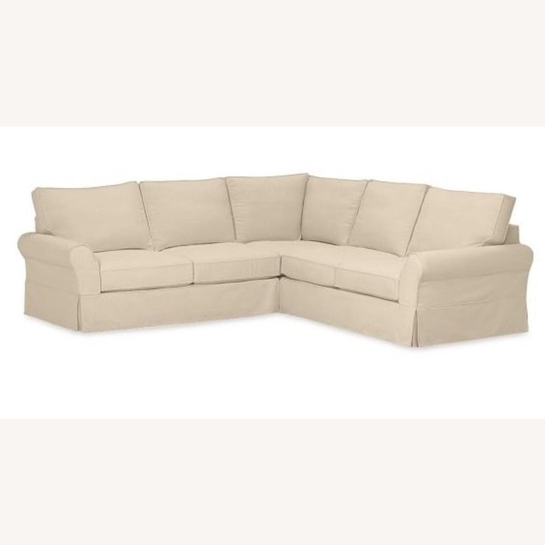 Pottery Barn PB Comfort 3-Piece Sectional Sofa - image-1
