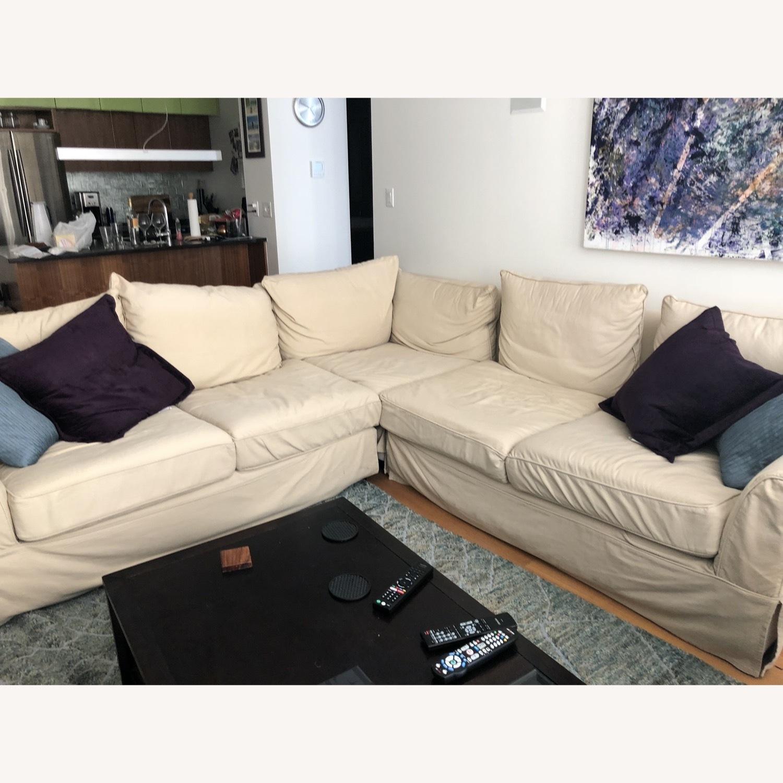 Pottery Barn PB Comfort 3-Piece Sectional Sofa - image-2