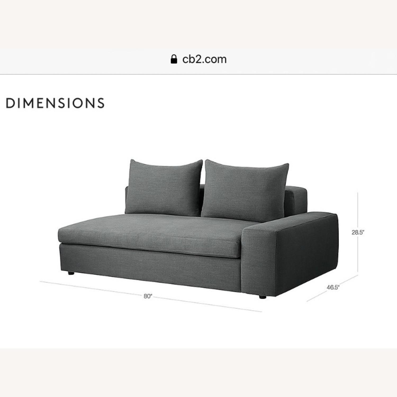 CB2 Arlo Sectional Sofa - image-8
