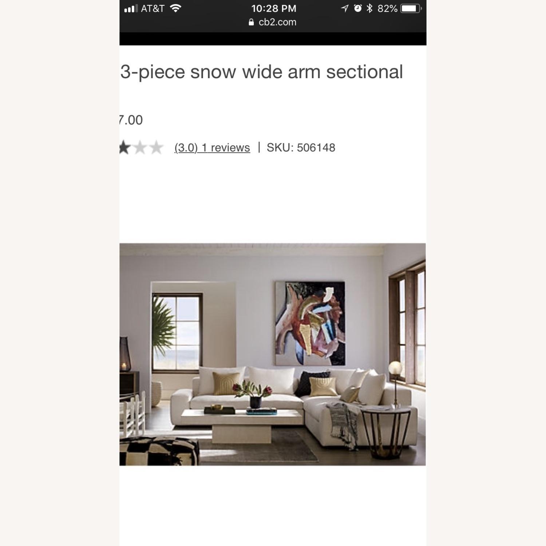 CB2 Arlo Sectional Sofa - image-1