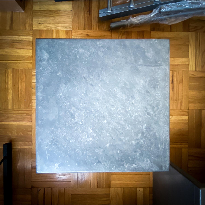 CB2 Skinny Dip Galvanized Indoor/Outdoor Tables - image-2
