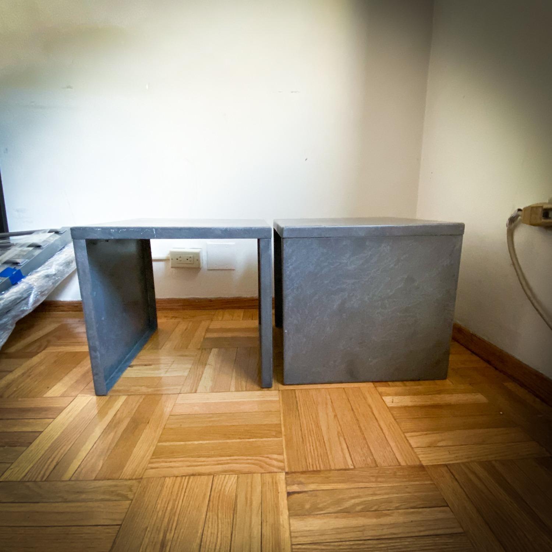 CB2 Skinny Dip Galvanized Indoor/Outdoor Tables - image-1