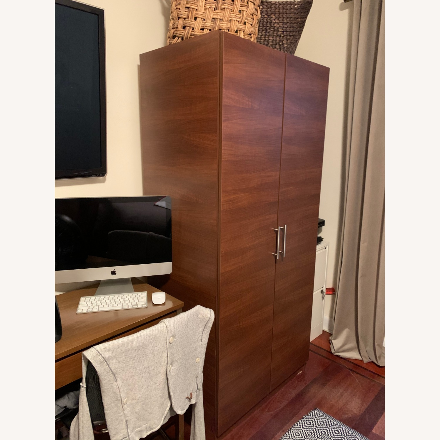 Custom Wardrobe Closets with Drawers and Shelves - image-5