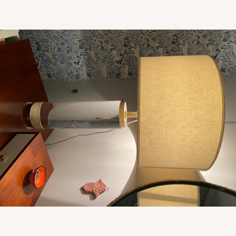 Restoration Hardware Crystal Table Lamp - image-9