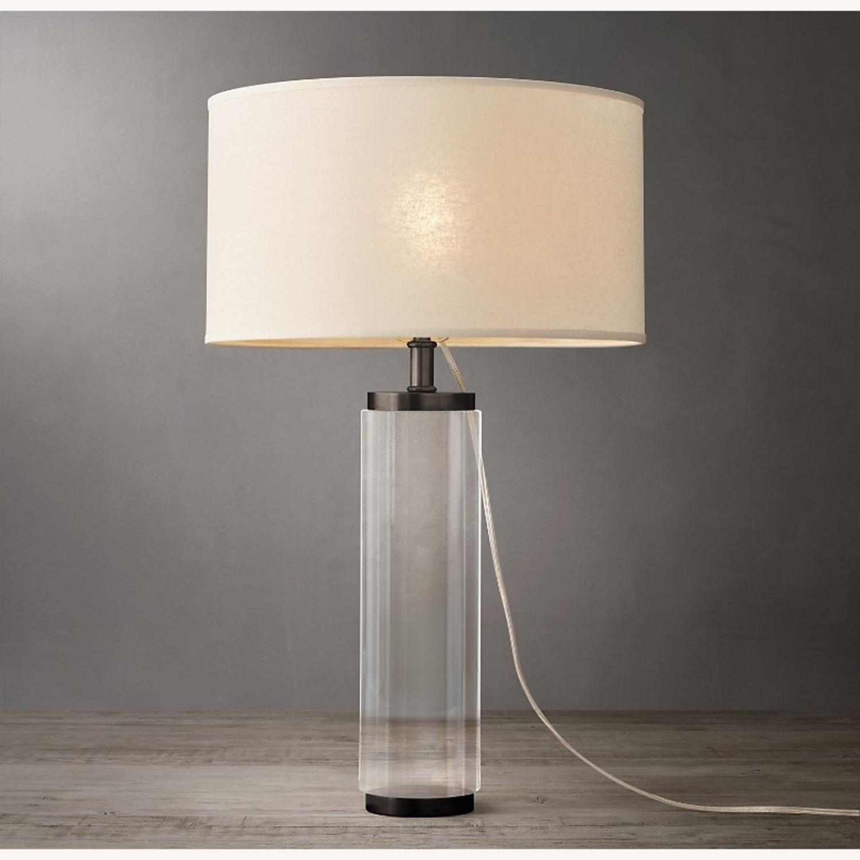 Restoration Hardware Crystal Table Lamp - image-1