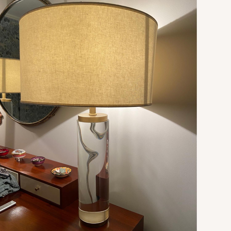 Restoration Hardware Crystal Table Lamp - image-4