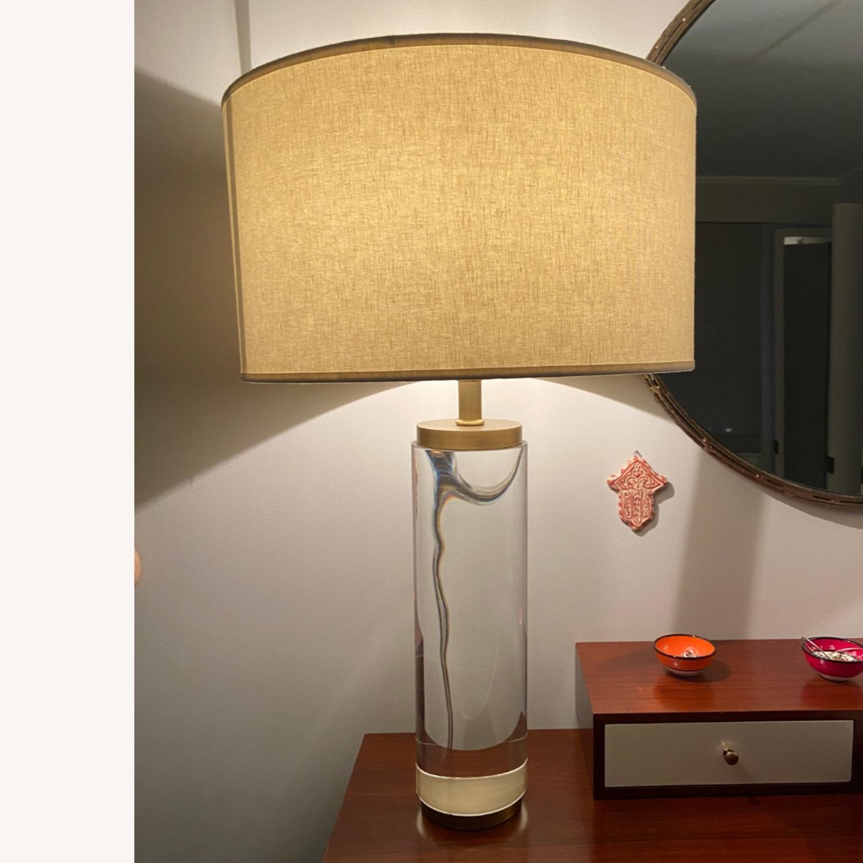 Restoration Hardware Crystal Table Lamp - image-2