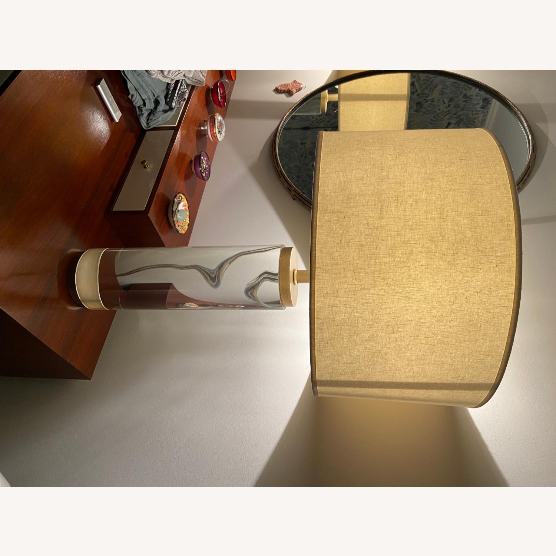 Restoration Hardware Crystal Table Lamp - image-7