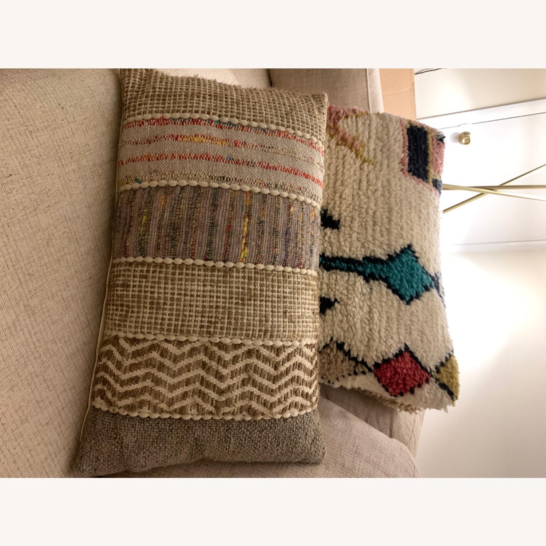 World Market Boho Textured Pillows - image-3