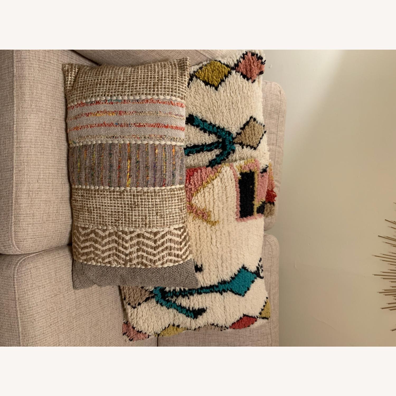World Market Boho Textured Pillows - image-2