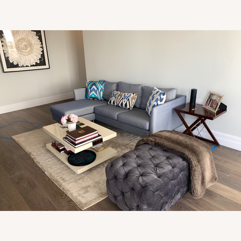 BoConcept Blue Chaise Sectional Sofa - image-2