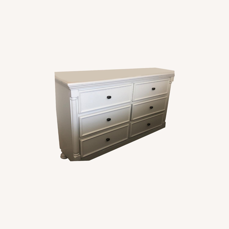 Ashley Furniture Kaslyn Dresser with Mirror - image-0