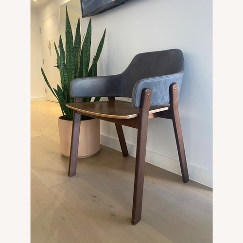 Used Blu Dot Clutch Leather Dining Chair for sale on AptDeco