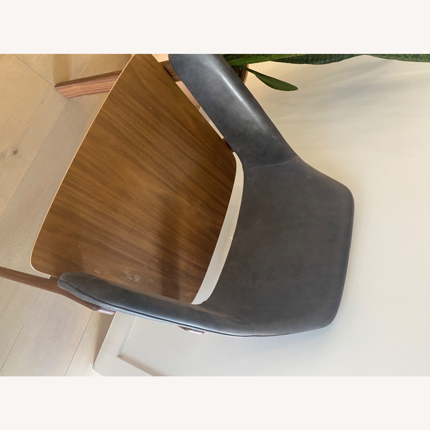 Blu Dot Clutch Leather Dining Chair - image-19