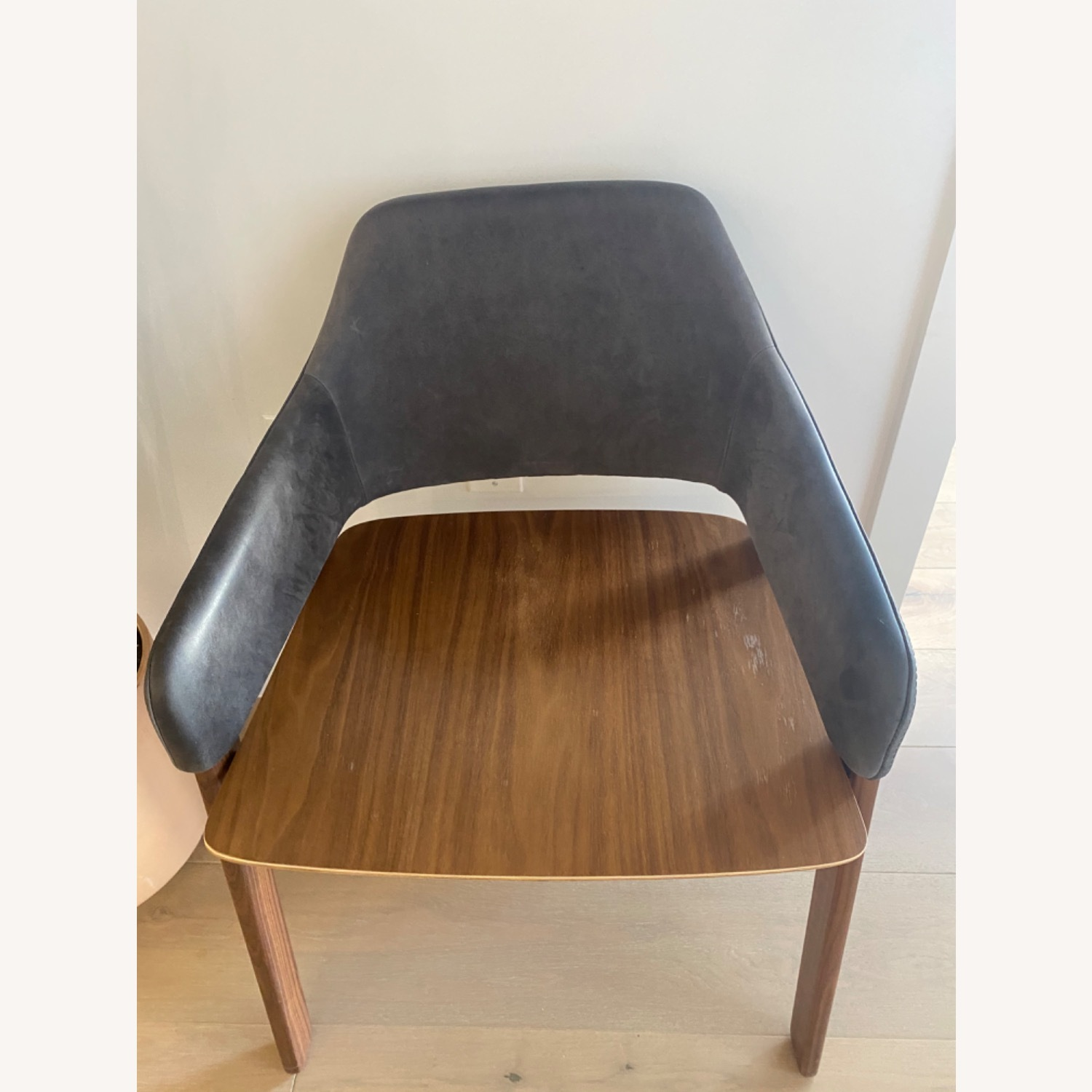 Blu Dot Clutch Leather Dining Chair - image-6