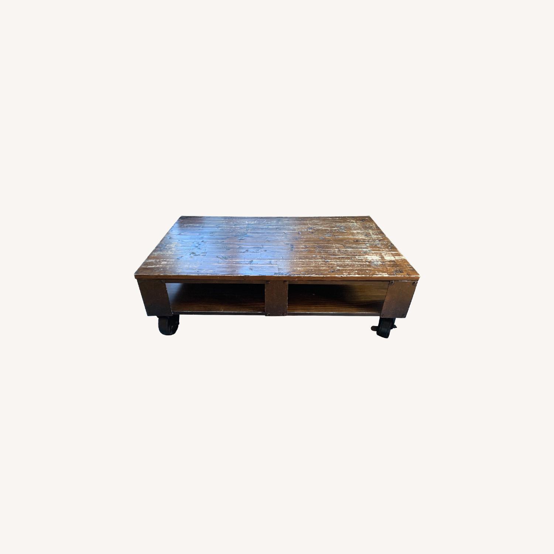 Raymour & Flanigan Coffee Table - image-0