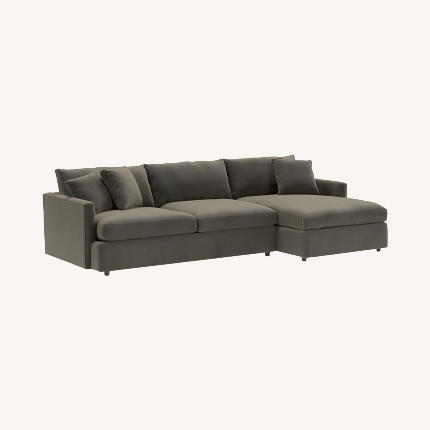 Crate & Barrel 3 Piece Sectional - image-0