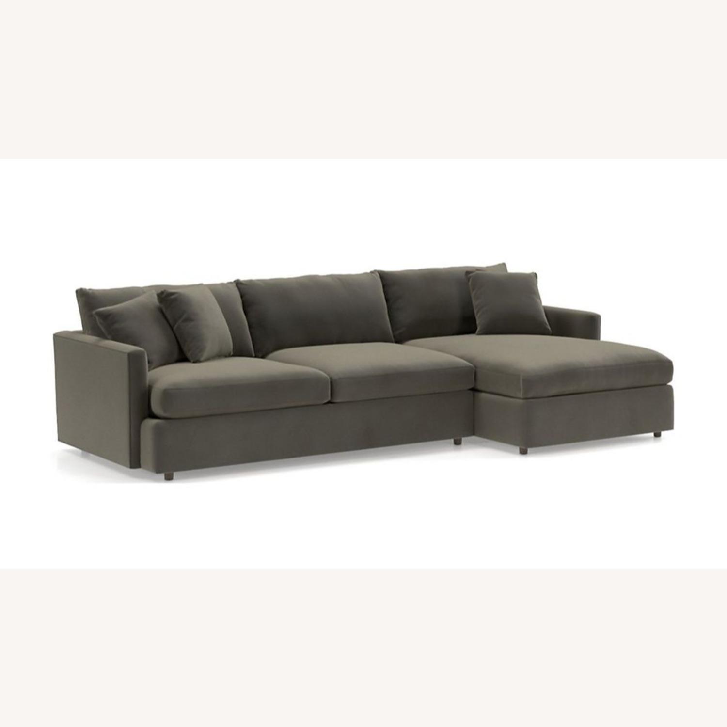 Crate & Barrel 3 Piece Sectional - image-4