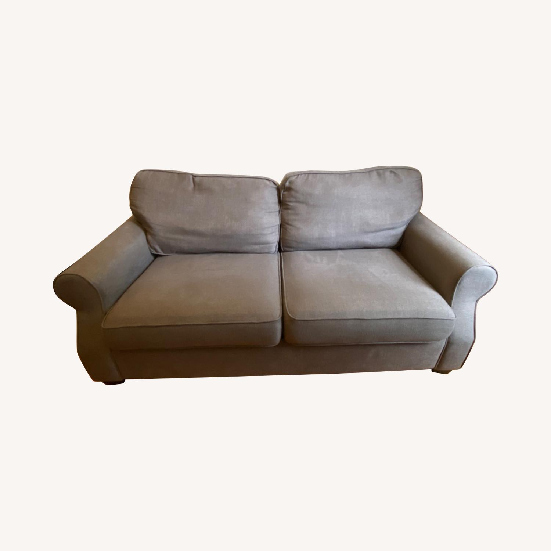 Pottery Barn SoMa Fremont Roll Arm Upholstered Sofa - image-0