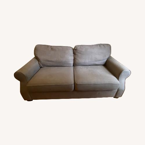 Used Pottery Barn SoMa Fremont Roll Arm Upholstered Sofa for sale on AptDeco