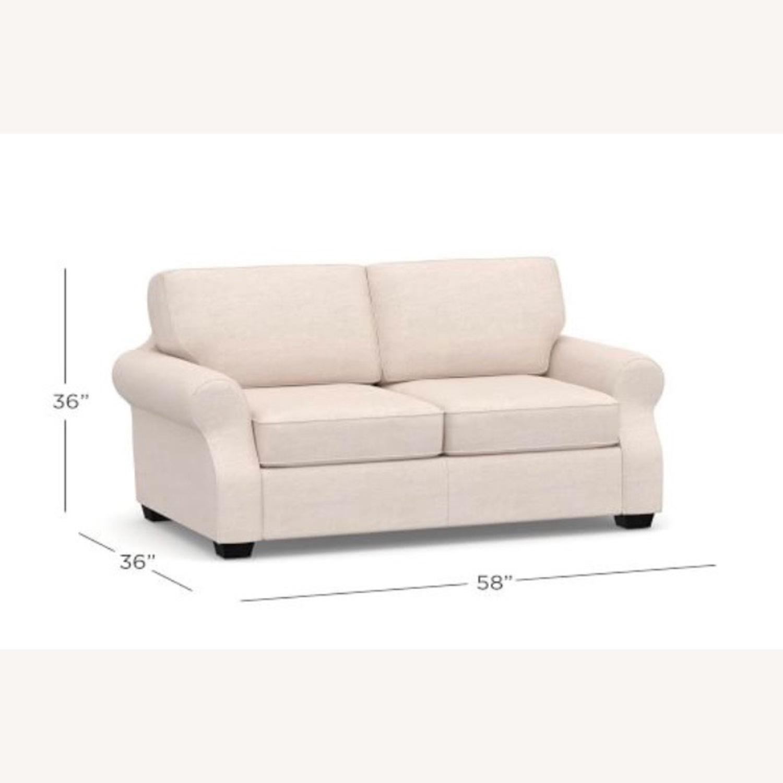 Pottery Barn SoMa Fremont Roll Arm Upholstered Sofa - image-5