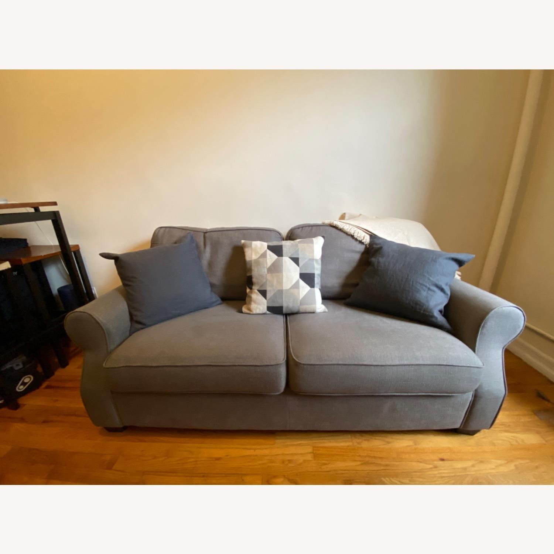 Pottery Barn SoMa Fremont Roll Arm Upholstered Sofa - image-1