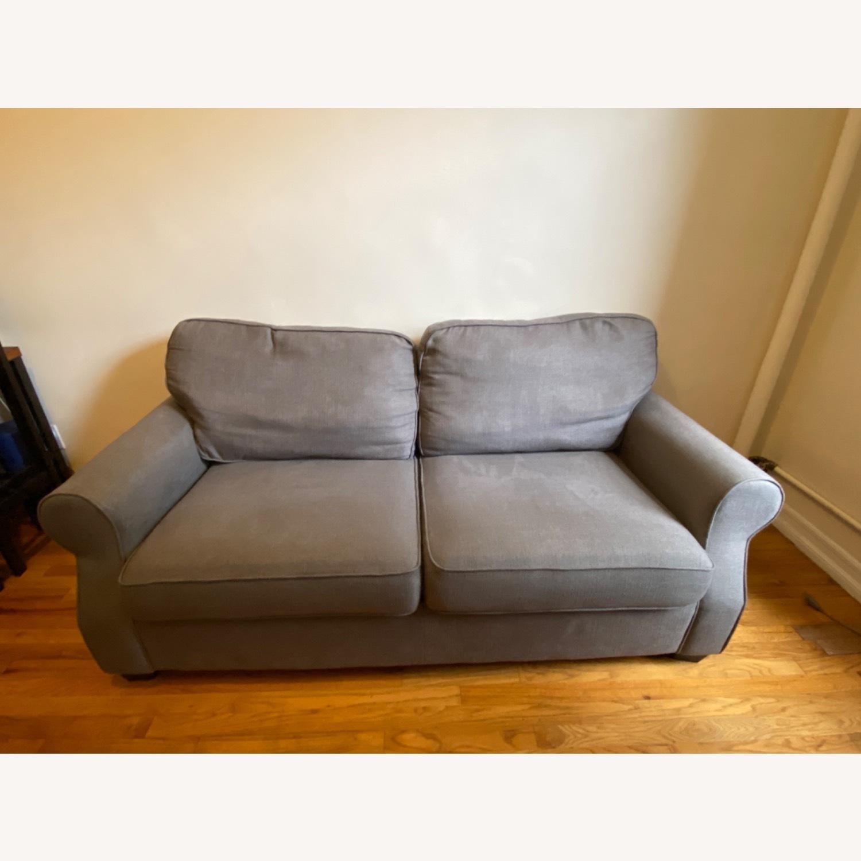 Pottery Barn SoMa Fremont Roll Arm Upholstered Sofa - image-2