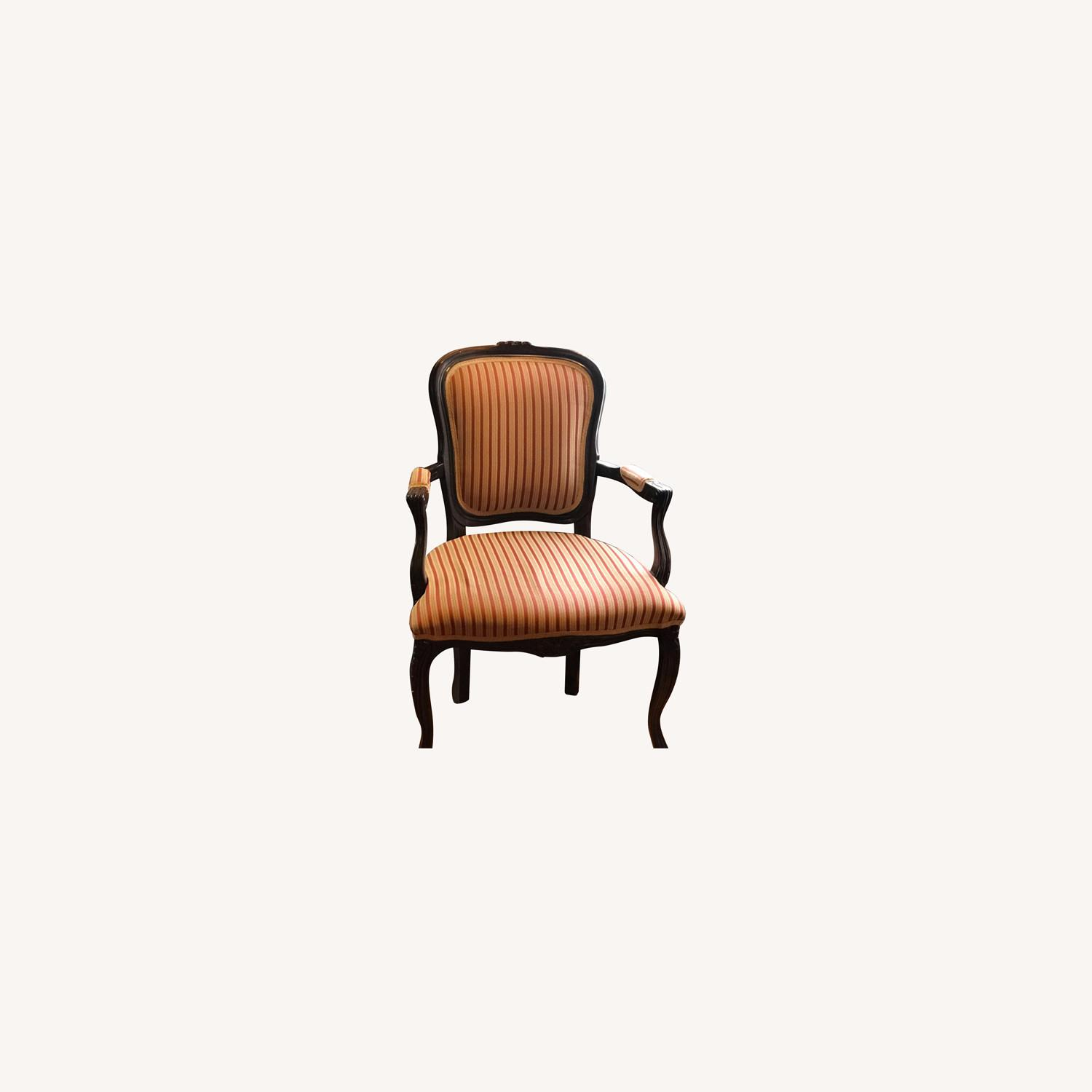Raymour & Flanigan Striped Accent Chairs - image-0