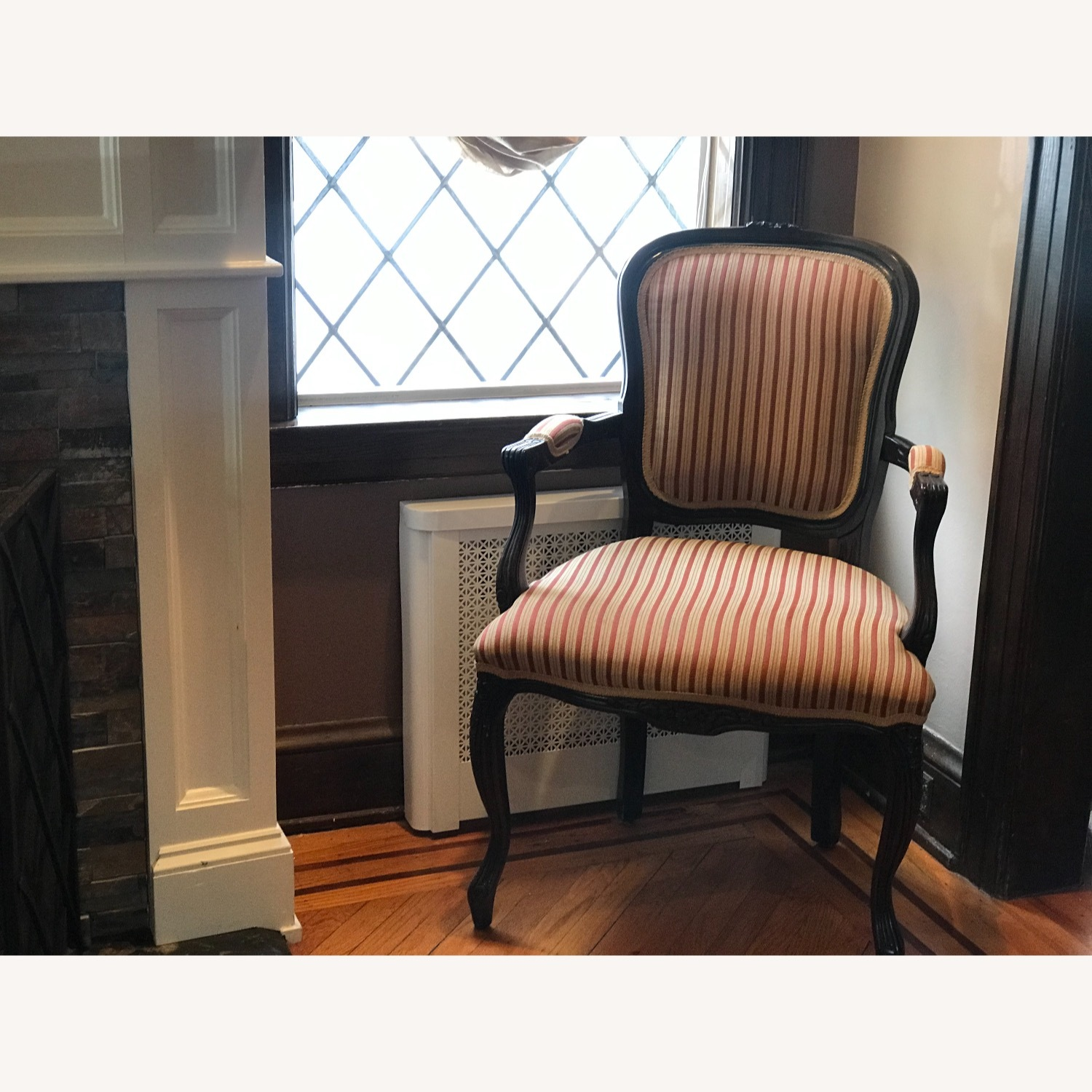 Raymour & Flanigan Striped Accent Chairs - image-3